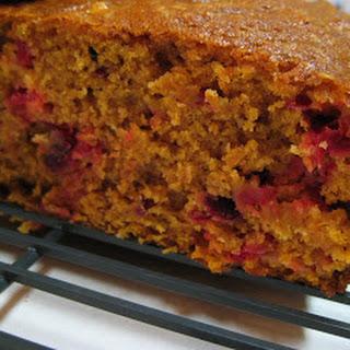 Cranberry Pumpkin Bread.