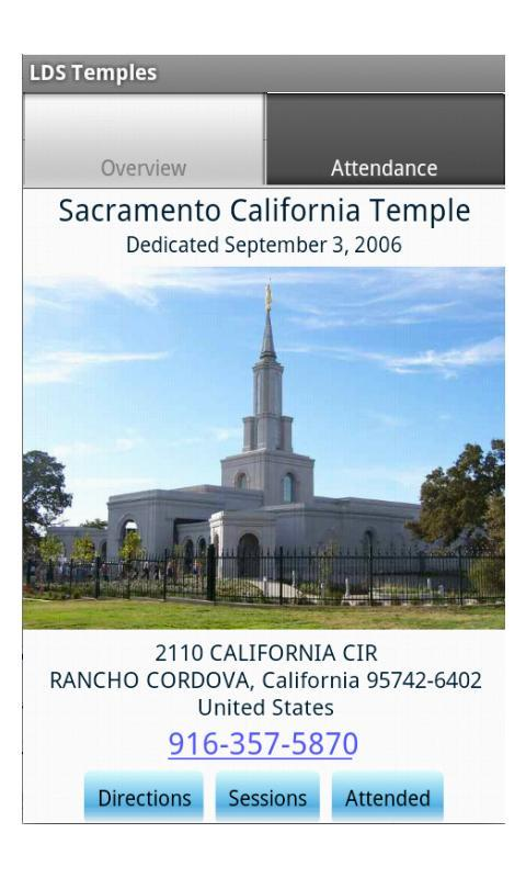 LDS Temples - screenshot