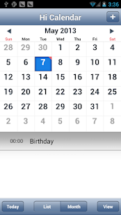 Hi Calendar - screenshot thumbnail