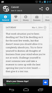 Smart Horoscope- screenshot thumbnail