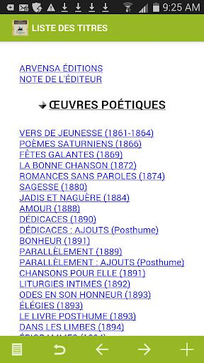 Verlaine : Oeuvres complètes