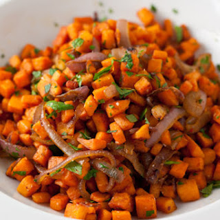 Cumin-Scented Sweet Potato Hash