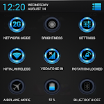 Radient Blue Theme CM11/AOKP v4.0