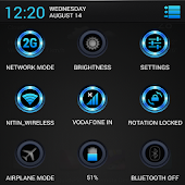 Radient Blue Theme CM11/AOKP