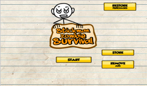 Stickman Zombie Survival