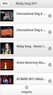 Malay Songs Videos