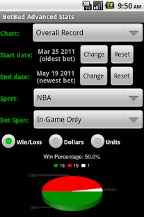 BetBud - sports bet tracker- screenshot thumbnail