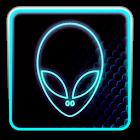 BLUE ALIEN ADW Theme icon
