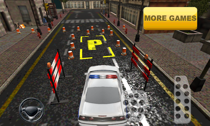 Police Car Parking- screenshot