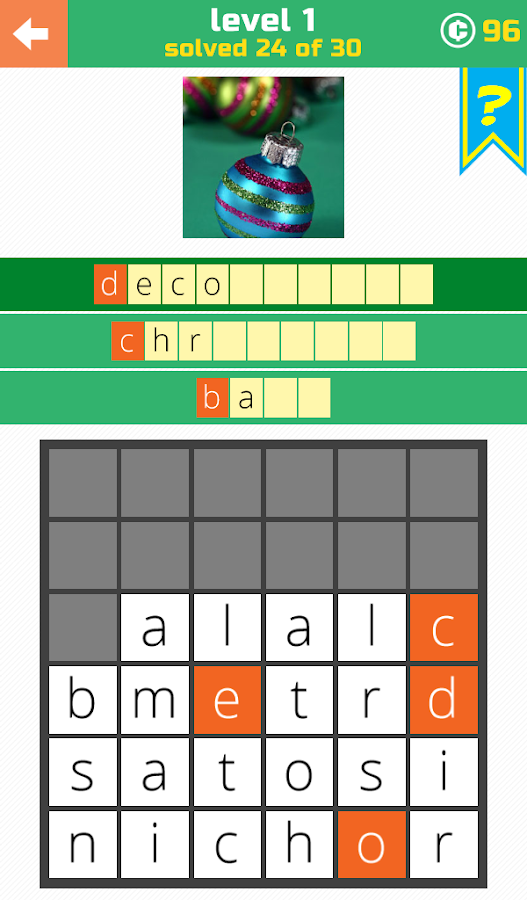 3 Little Words: Word Search- screenshot