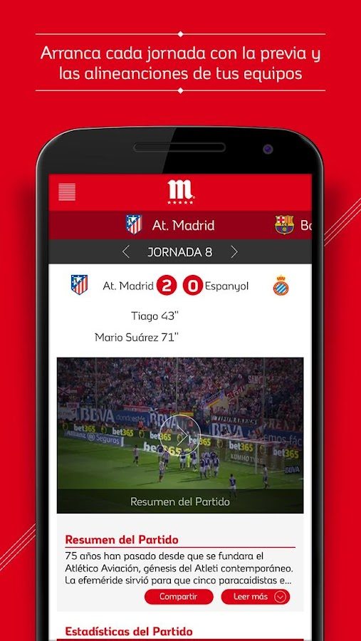 Fútbol Mahou - screenshot