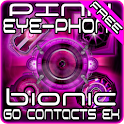 Pink Bionic GO Contacts Theme logo