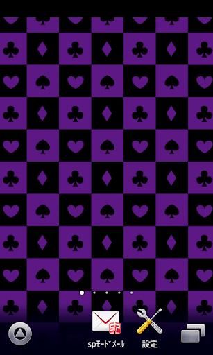 卡紫色壁纸