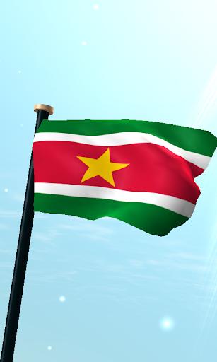蘇里南旗3D免費動態桌布