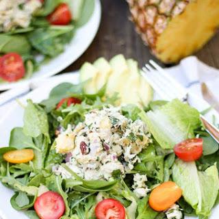 Pineapple Cilantro Chicken Salad.