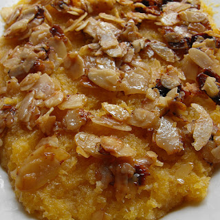 Coconut And Almond Crumbs.