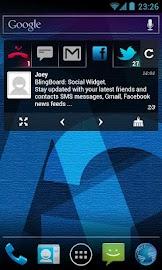 BlingBoard: Social Widget Screenshot 4