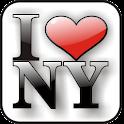 I LUV NY doo-dad Gold logo