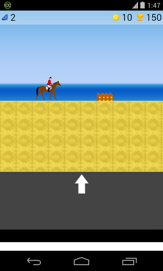horse riding game - screenshot