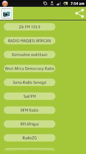 Dakar Senegal Radios