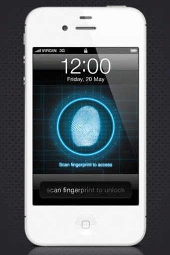Fingerprint Unlock Screen
