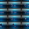 Dialer Gloss Blue Dusk Theme icon