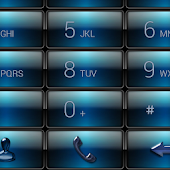 exDialer Gloss Blue Dusk Theme