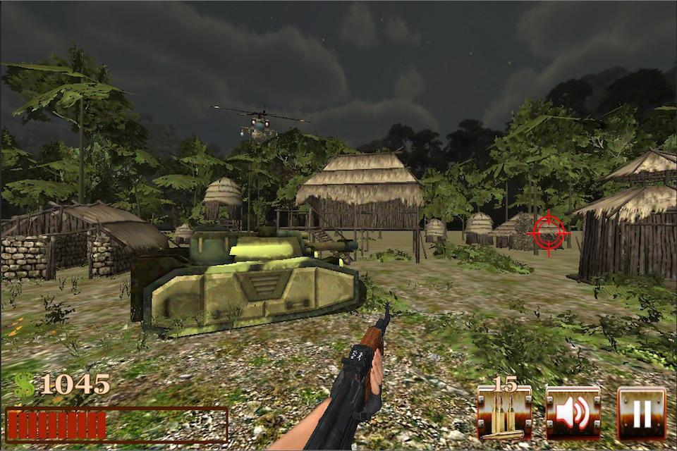 Commando shooter-sniper strike- screenshot