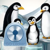 GO Locker Theme penguins