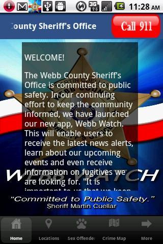 Webb County Sheriff's Office