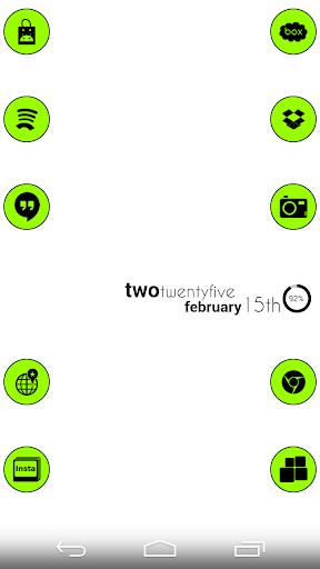 VM5 Green Icon Set