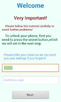 Screenshot of Fingerprint Locker GPS Free