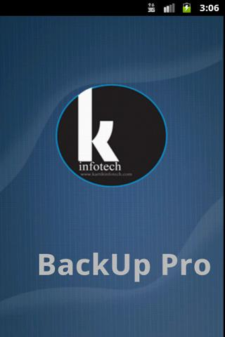 BackUp Pro- screenshot
