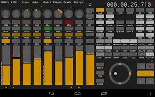 Screenshot of TouchDAW