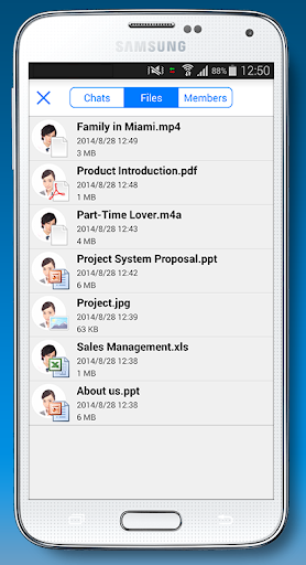 meety - 様々なファイルをチャットで共有できる - 社交 App-愛順發玩APP