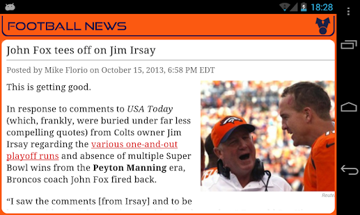 Denver Football News- screenshot thumbnail