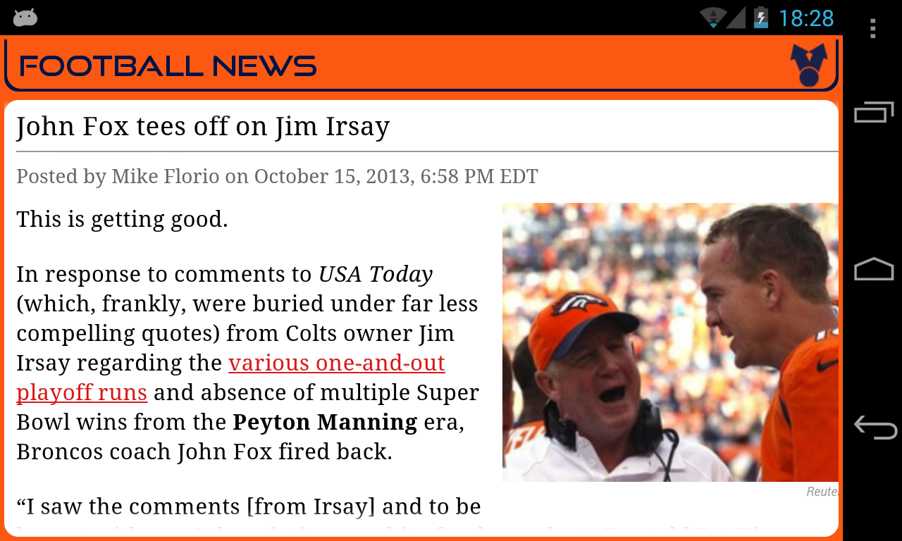 Denver Football News - screenshot