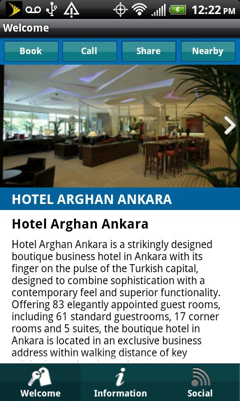 Arghan Hotels- screenshot