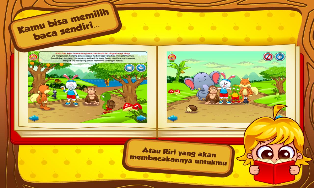 Cerita Anak Kelinci Kura Kura Apl Android Di Google Play