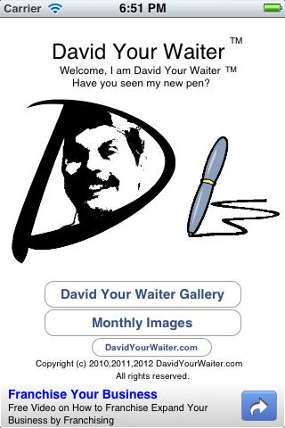 David Your Waiter