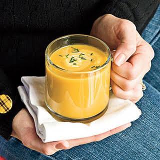 Butternut Squash-Parsnip Soup.