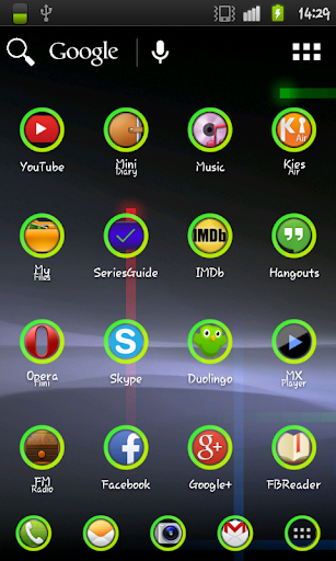 Green Hole Icon Pack
