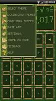 Screenshot of SCalc theme Bamboo