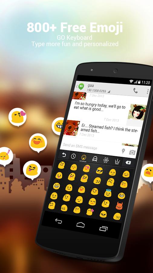 Greek for GO Keyboard - Emoji - screenshot