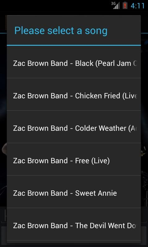 Zac Brown Band Music Videos - screenshot
