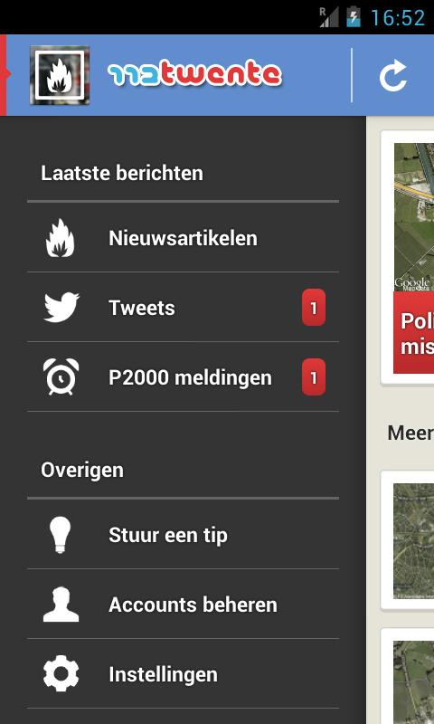 112Twente - screenshot