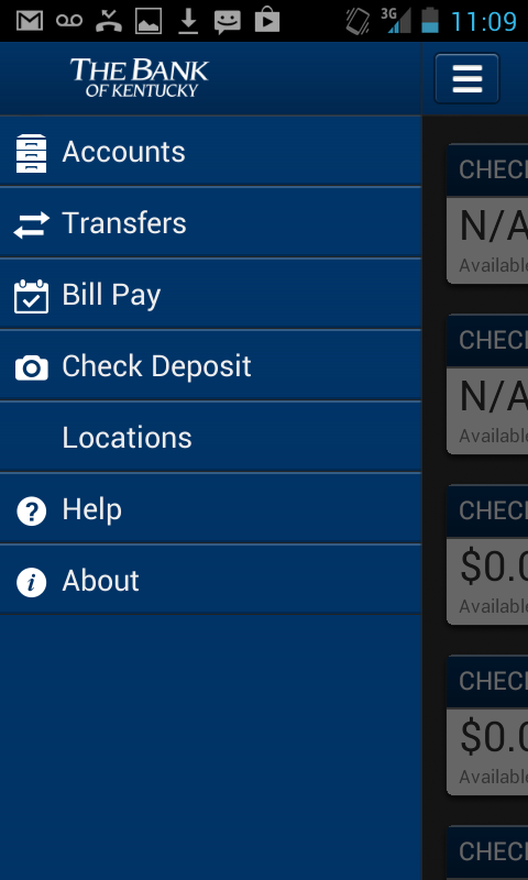 Bank of Kentucky - screenshot