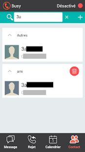 Sms answer and call blocker- screenshot thumbnail