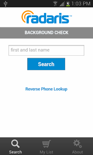 Background Check on People