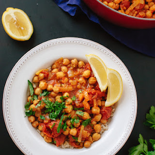 Quick Vegan Chana Masala